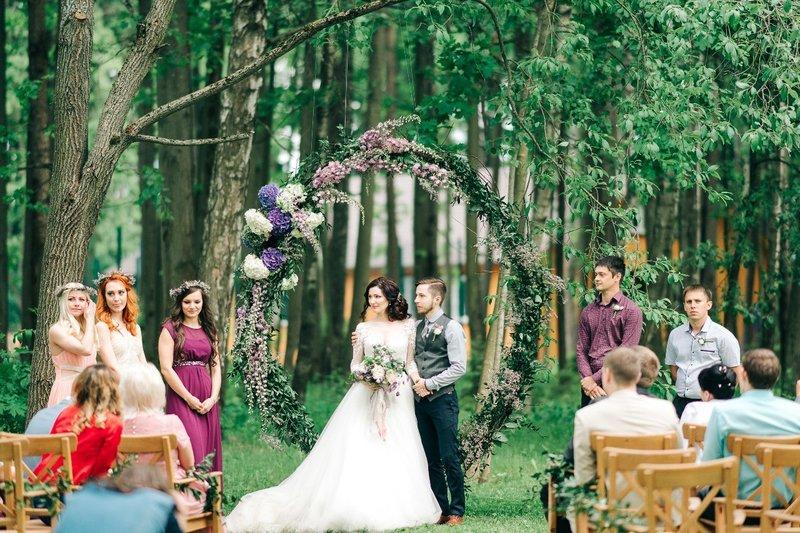 Свадьба кемерово на природе