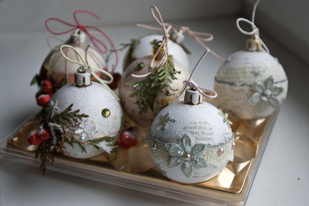 новогодние шары своими руками фото мастер класс вами интересным