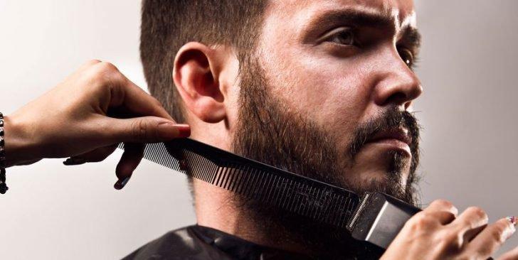 Стрижка бороды и усов минск