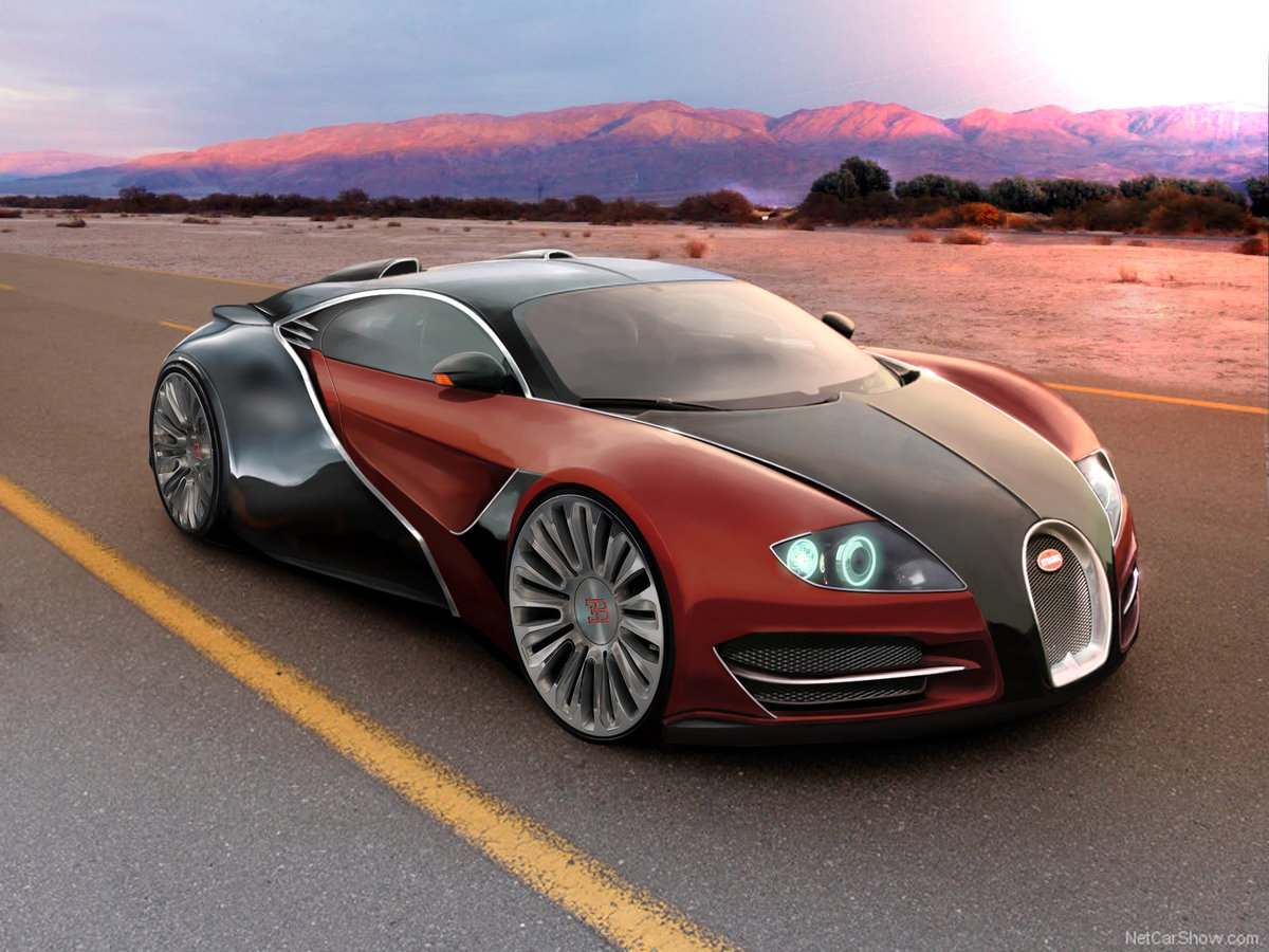 newest bugatti concept - HD 1032×774