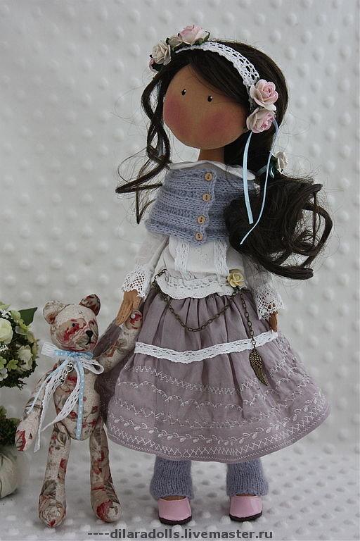Текстильная кукла изготовление своими руками 79