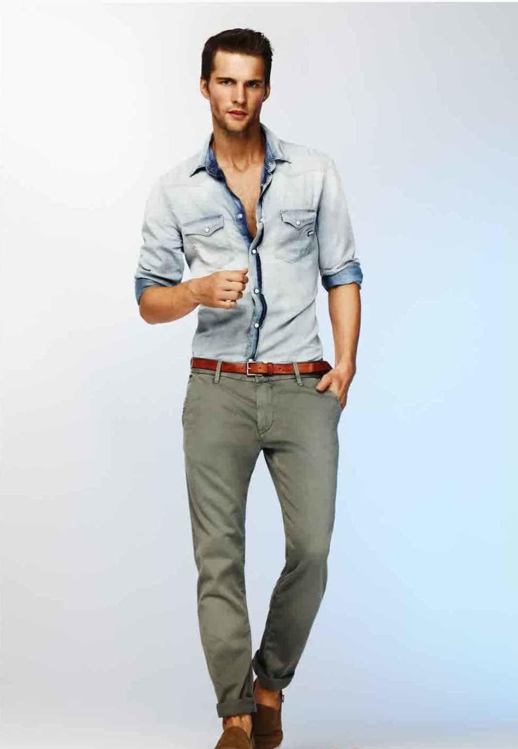 men's casual clothing - HD1067×1543