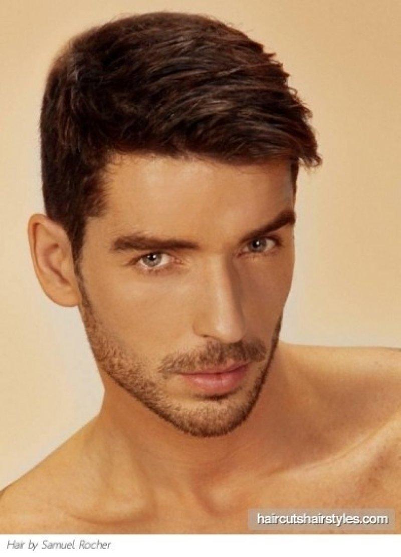 Мужские прически для коротких волос