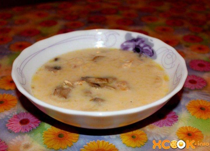 Суп с сыром рецепт с фото пошагово