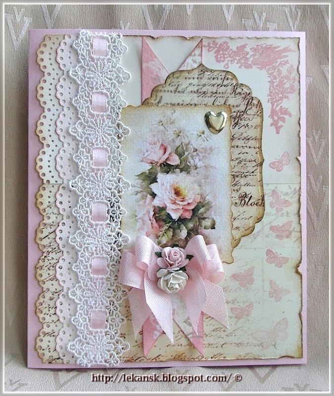 Открытка, открытка в стиле скрапбукинг с днем рождения девочке