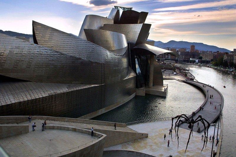 музей бильбао испания