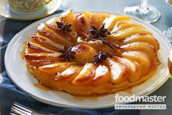 яблочный тартатен рецепт с фото