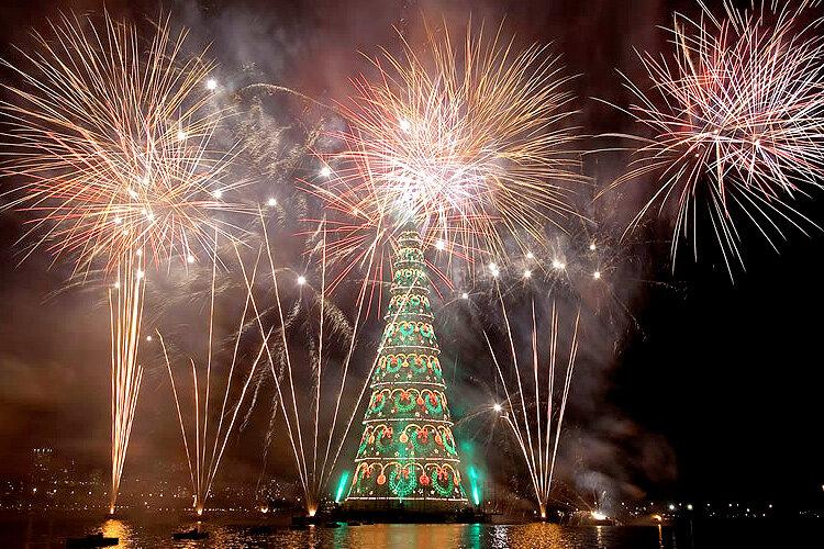 Экзотический Новый Год в Рио-Де-Жанейро