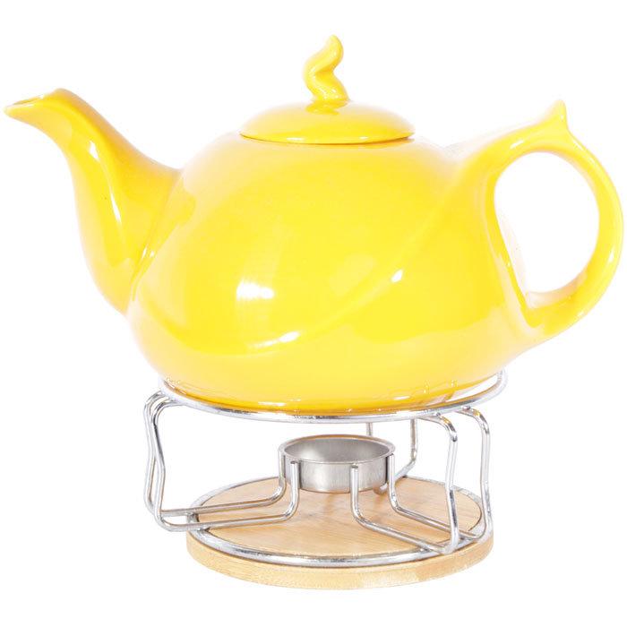 чайник с подогревом от свечи