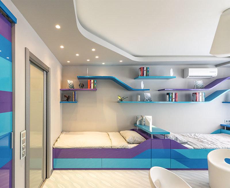 Какой цвет лучше подойдет для детской комнаты: правила сочетания и 2