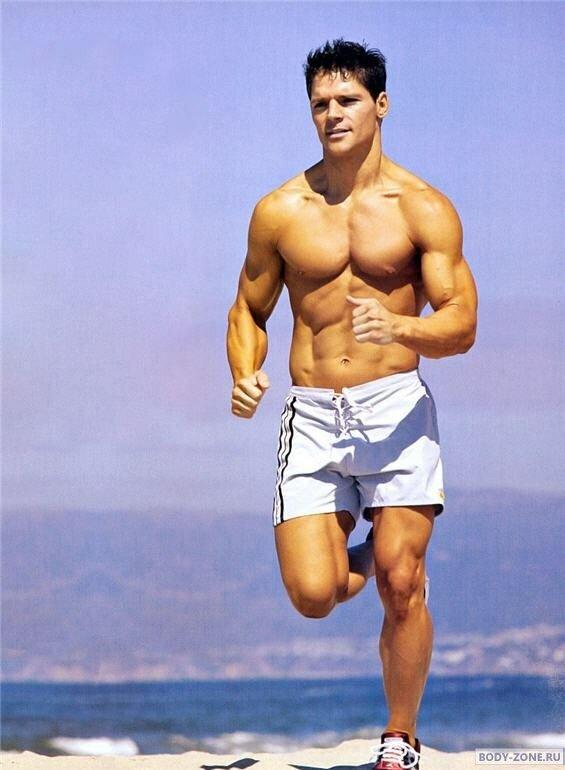 красивый атлет фото
