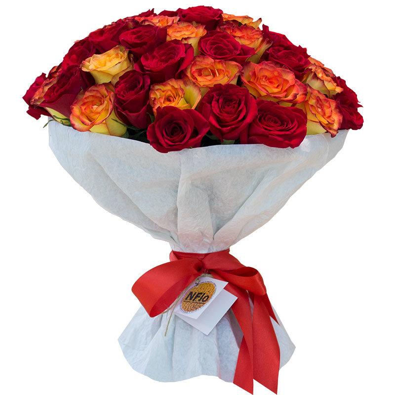 Букеты из 55 роз, иркутске купить