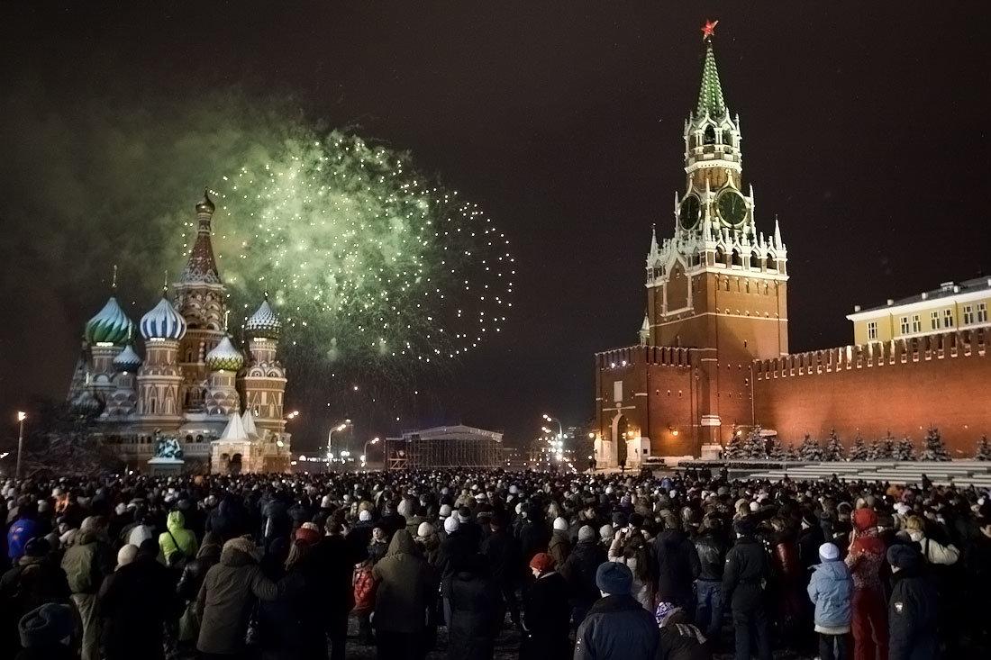 Картинки новогодней москвы 2018