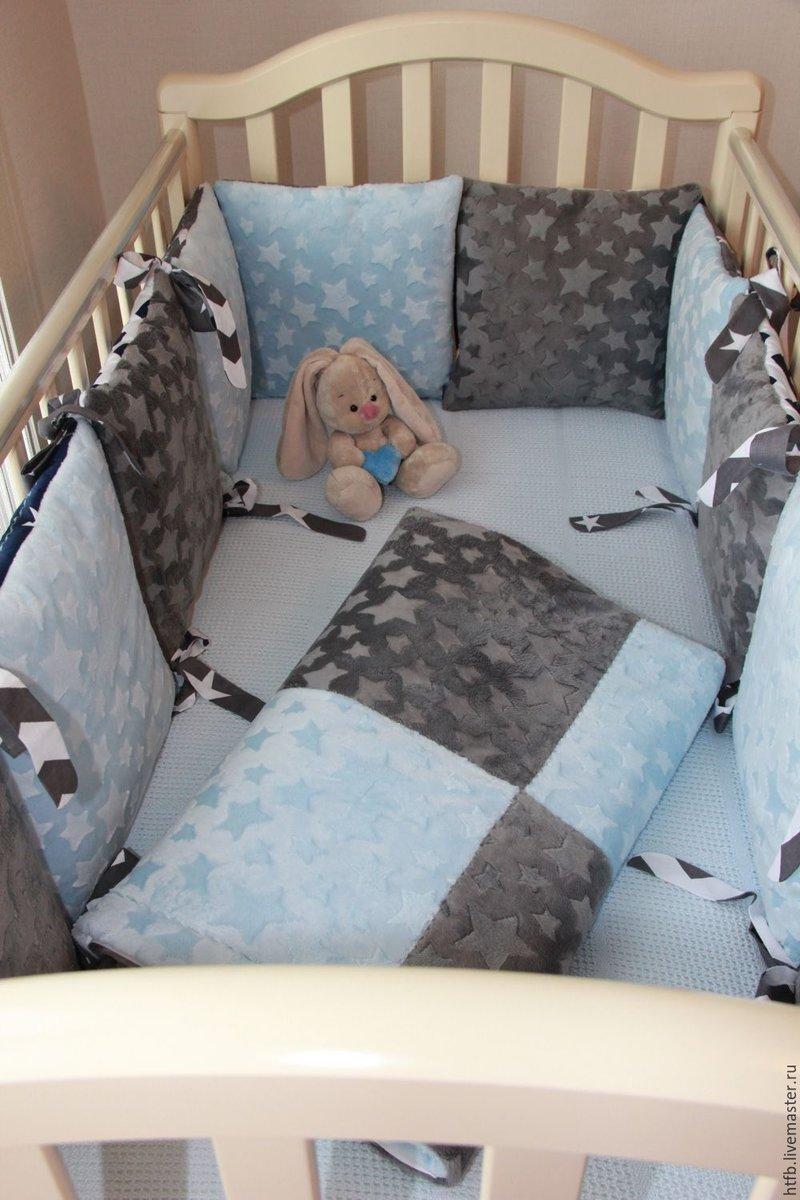Комплект детского постельного белья в кроватку сшить 143