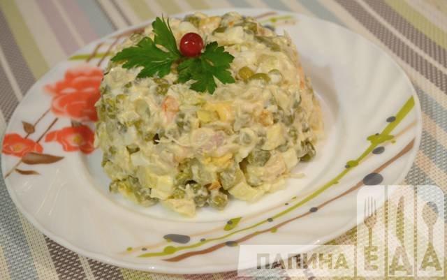 Оригинальные простые рецепты салатов с курицей и фото пошагового приготовления. Рецепт куриного салата на праздничный стол и повседневный ужин.
