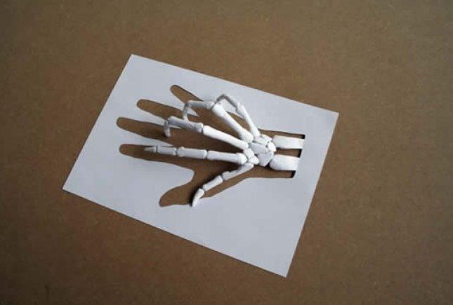 Объемная рука