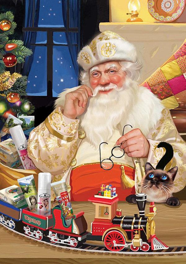 Одарить взрослых и детей подарками приходит Святой Микулаш.