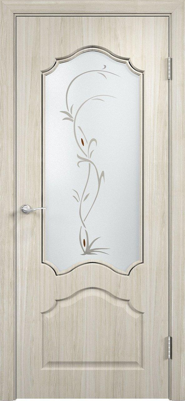 Дверь афины беленый дуб