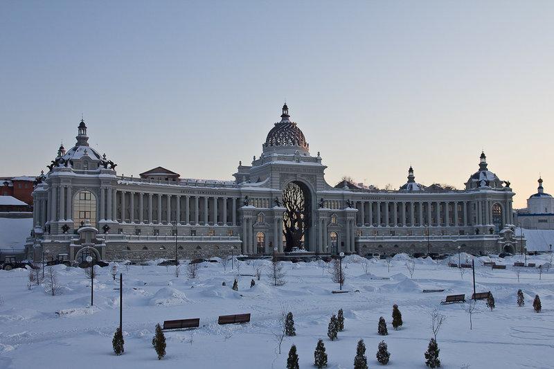 Казань. Фото с тура на Новый год
