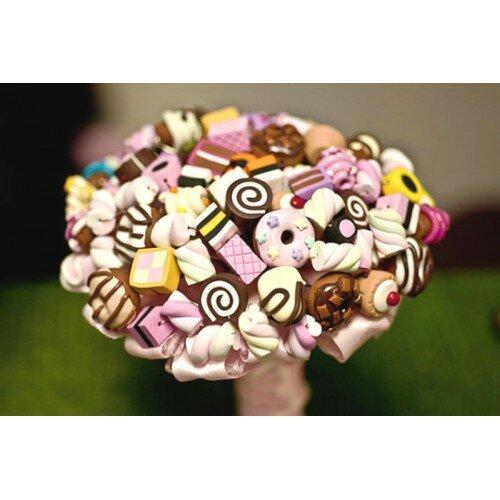 Букет из конфет 8