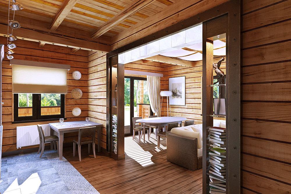 хотел успеть арка в деревянном доме из бруса фото стульев своими