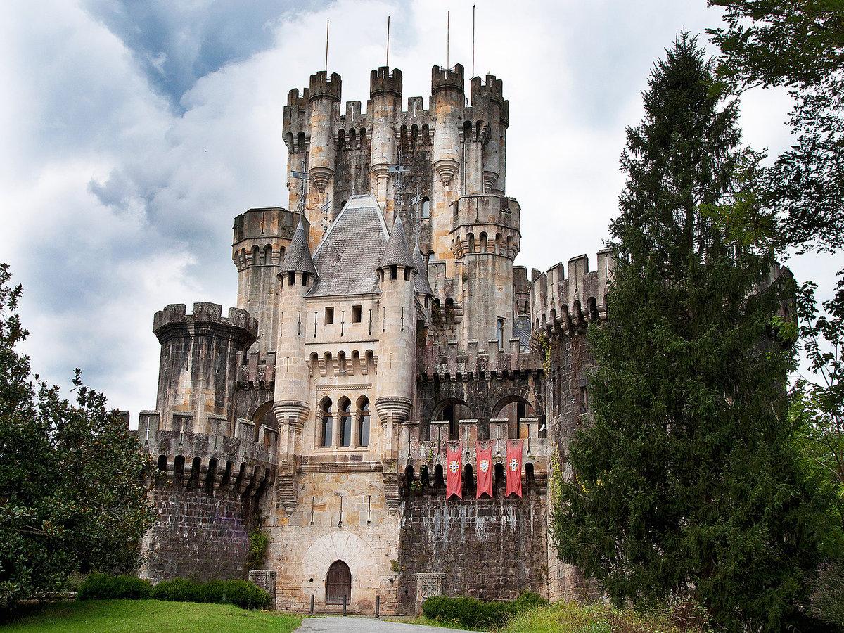 Картинки старинные замки