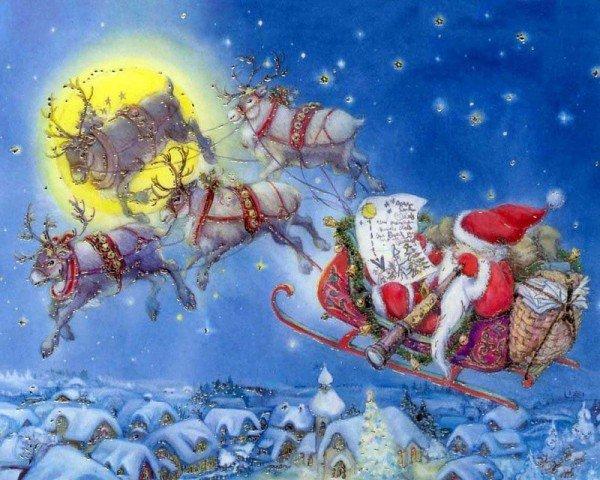 Добрые новогодние и рождественские иллюстрации художника Lisi Martin.