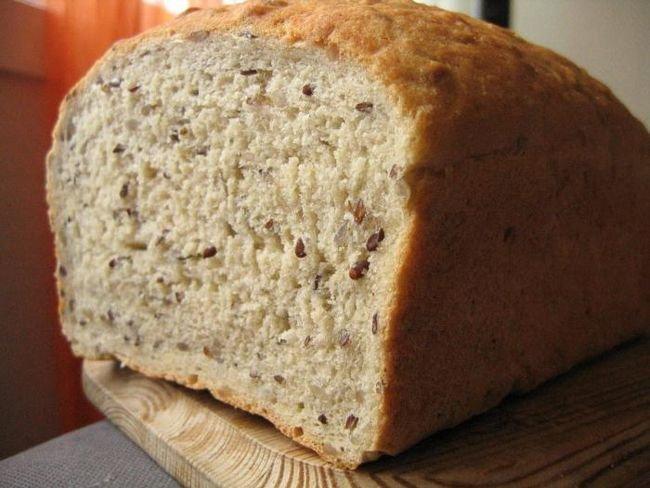 Постный хлеб в духовке
