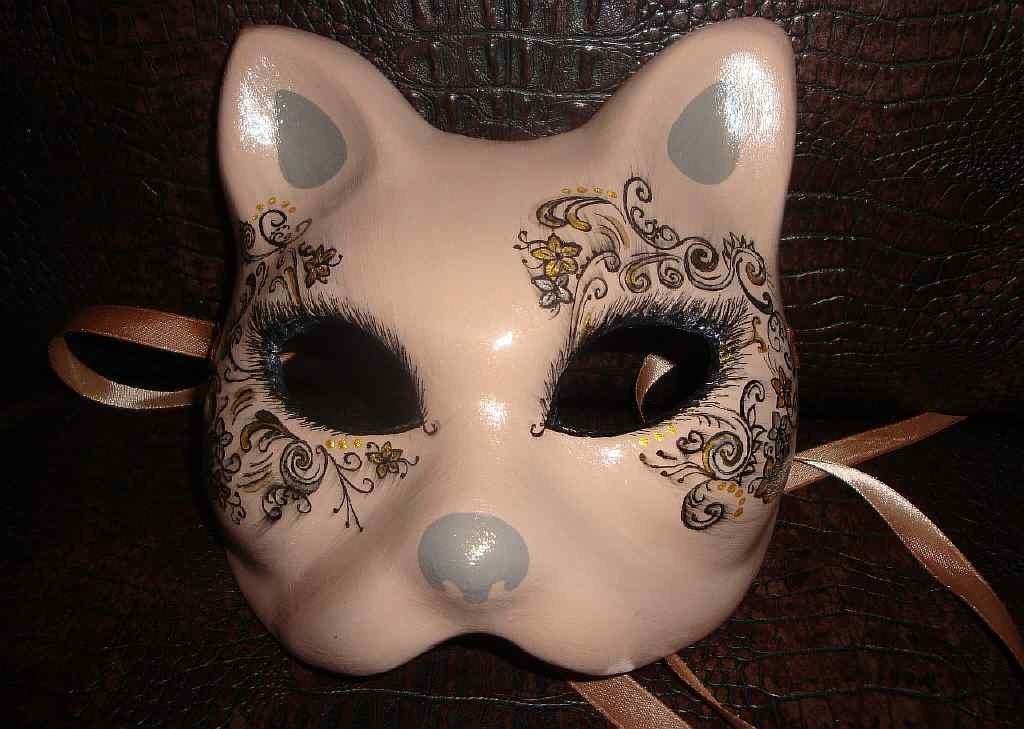 всё мужском как сделать маску из папье маше только
