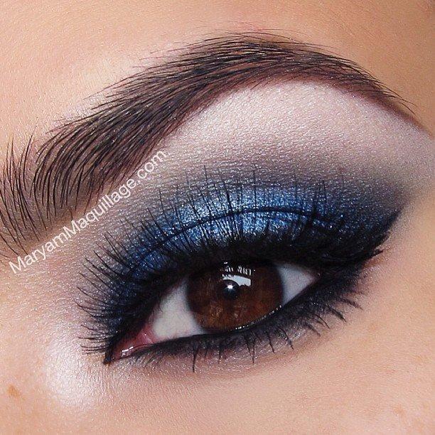Идеи макияжа карих и черных глаз