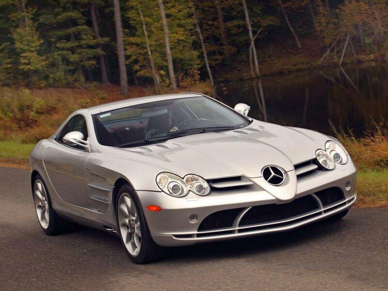 Mercedes-Benz SLR McLaren 2004 года