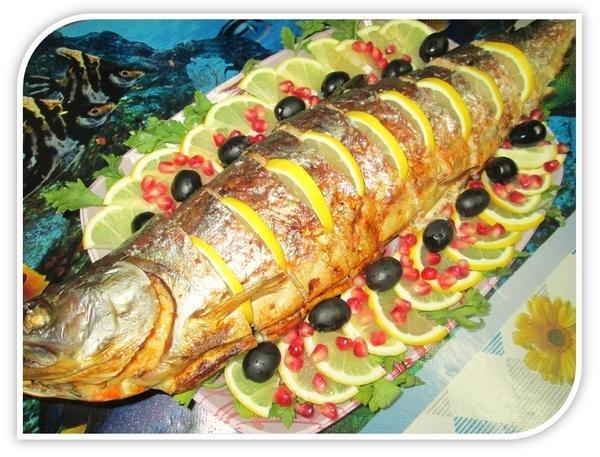 Рыба горбуша в духовке рецепты с фото