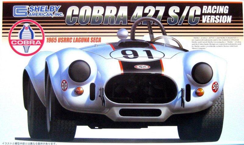 Fujimi Shelby Cobra 427S/C USRRC Laguna Seca