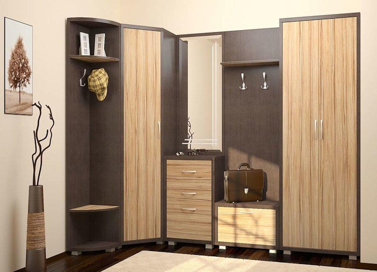 Угловая прихожая дизайн фото в квартире - фото дизайна углов.