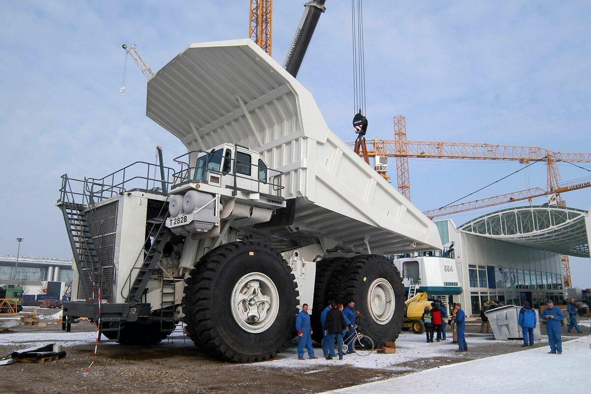 Самые большие грузовики в мире всех