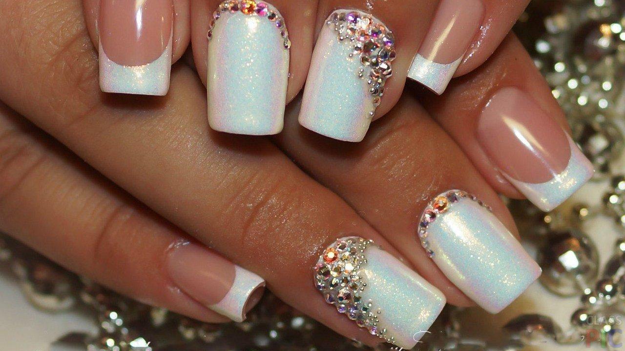 Белый Маникюр На Короткие Ногти Фото Дизайн