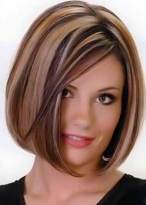 окраска волос в два цвета фото коротких