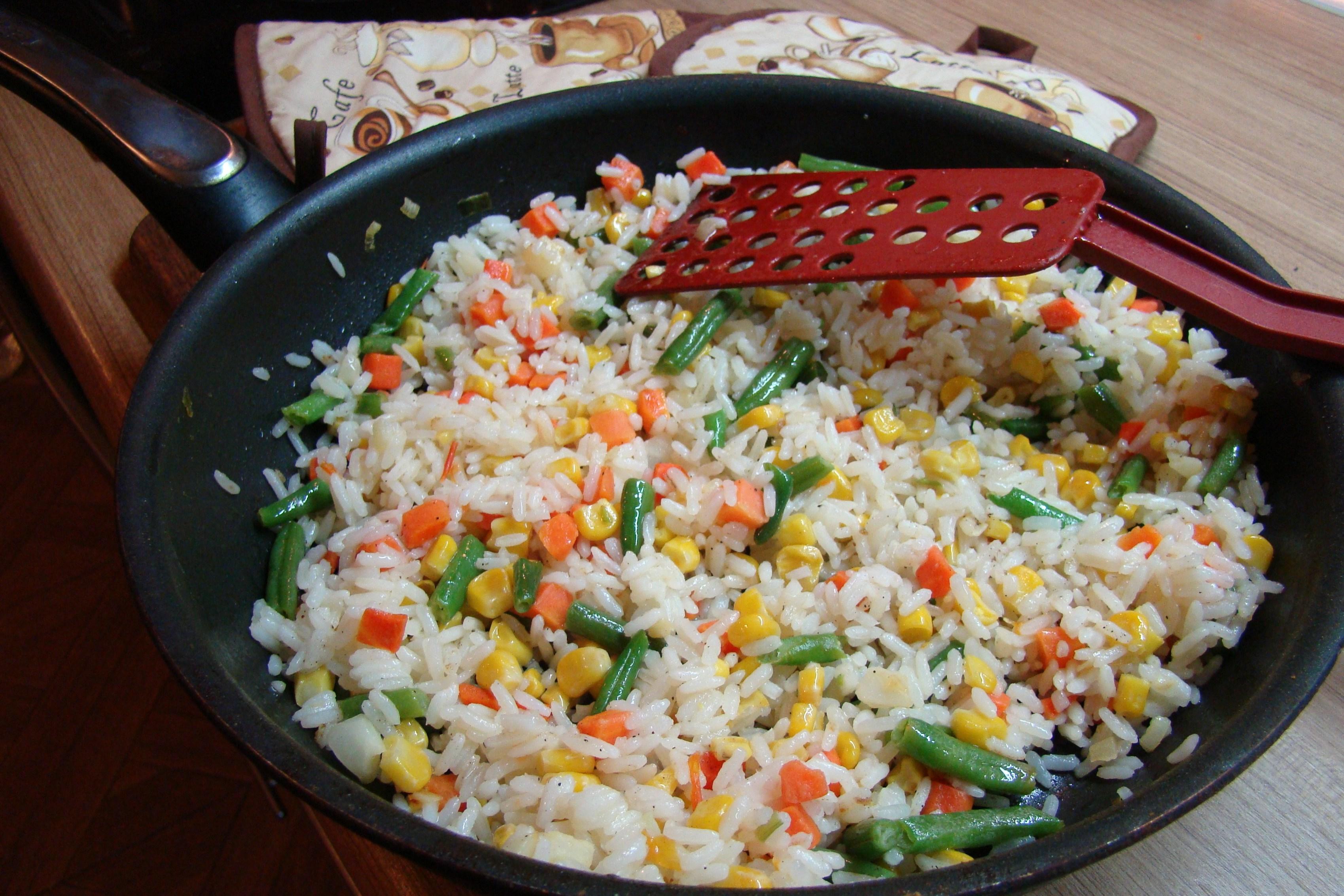 ризотто овощное рецепт с фото