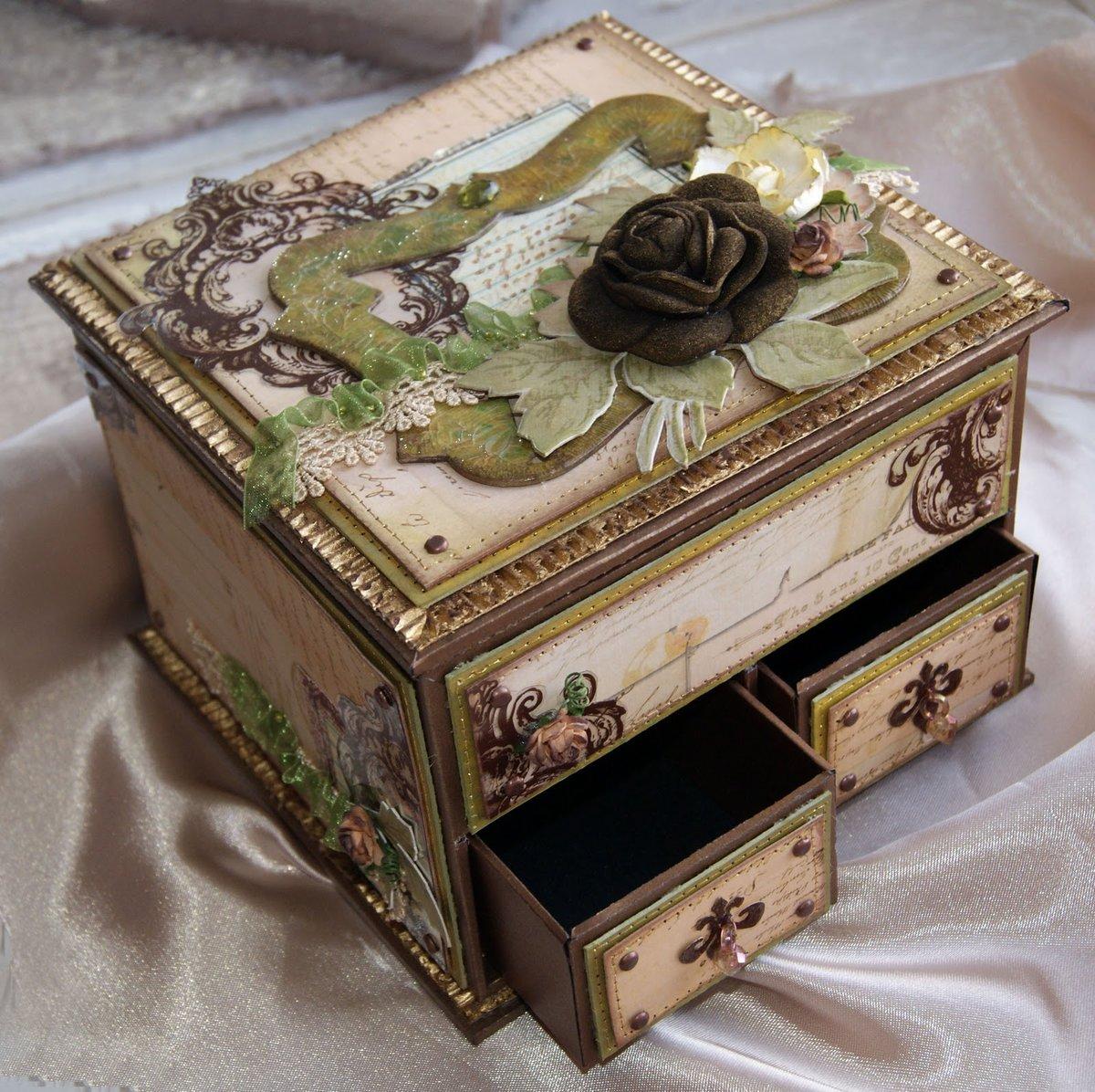 просто, как преобразить старую деревянную шкатулку фото утверждают