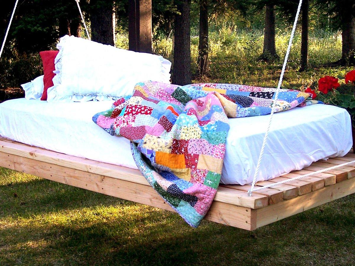 кровать гамак своими руками