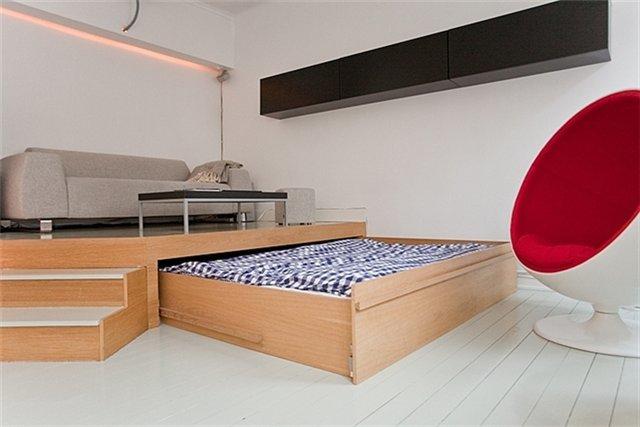 Изготовление кроватей под подиум на колесиках