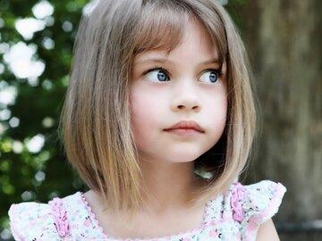 Детские стрижки и причёски