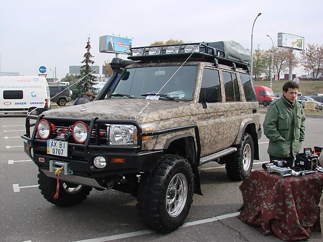 Лучшая машина для рыбалки и охоты