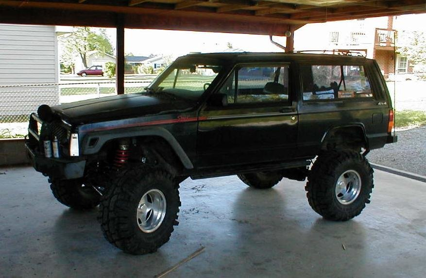 96 Jeep Cherokee Sport Lifted