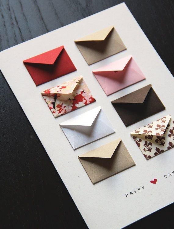 Картинки, как необычно украсить открытку