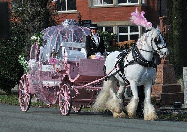 Розовая карета