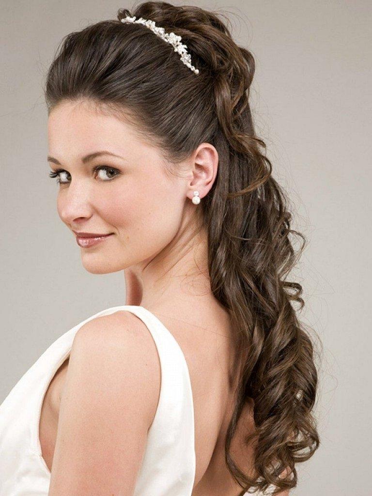 Причёска на длинные волосы своими руками на свадьбу