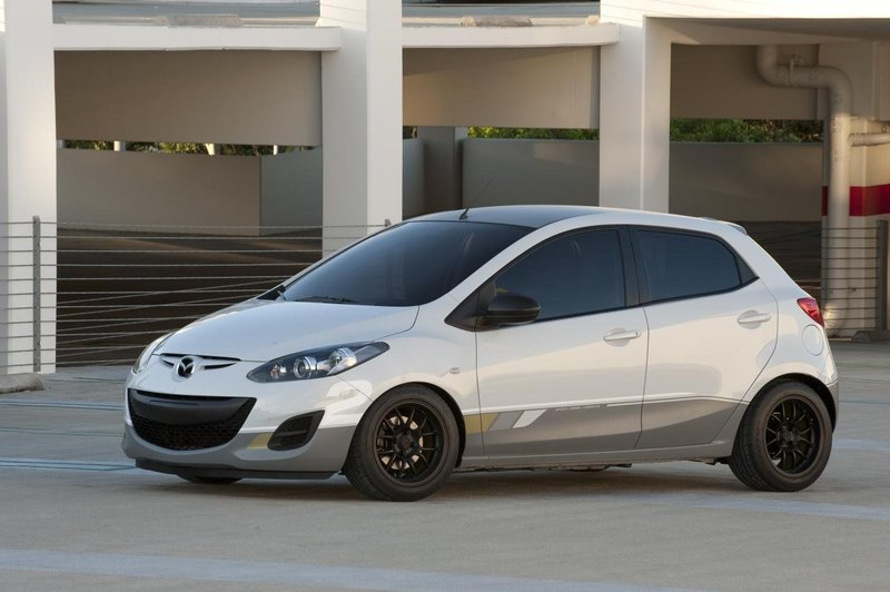Modified Mazda 2 Street Concept
