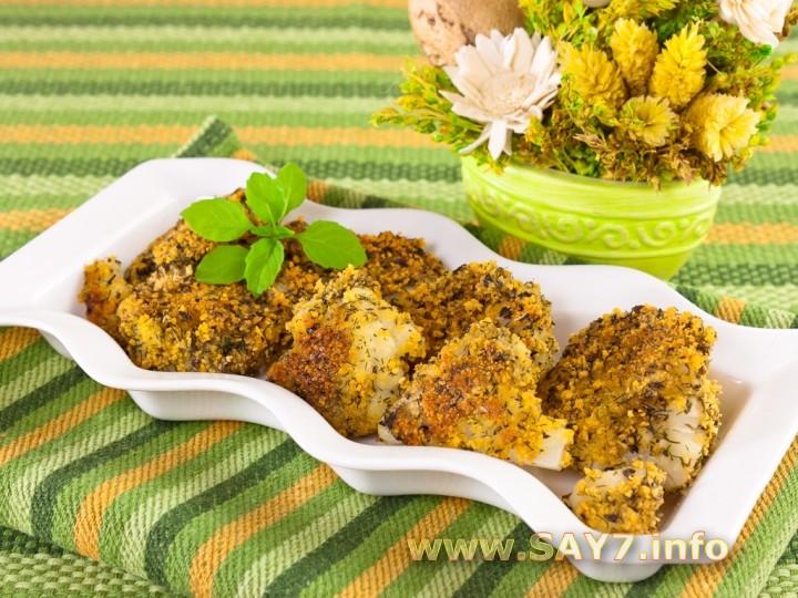 цветная капуста жареная в сухарях рецепт с фото
