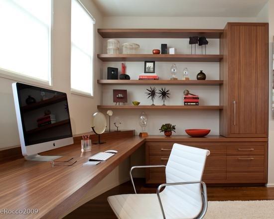 Интерьер кабинета: цветовая гамма в современном стиле